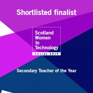 ShortlistedFinalist SWiT Secondary Teacher of the Year
